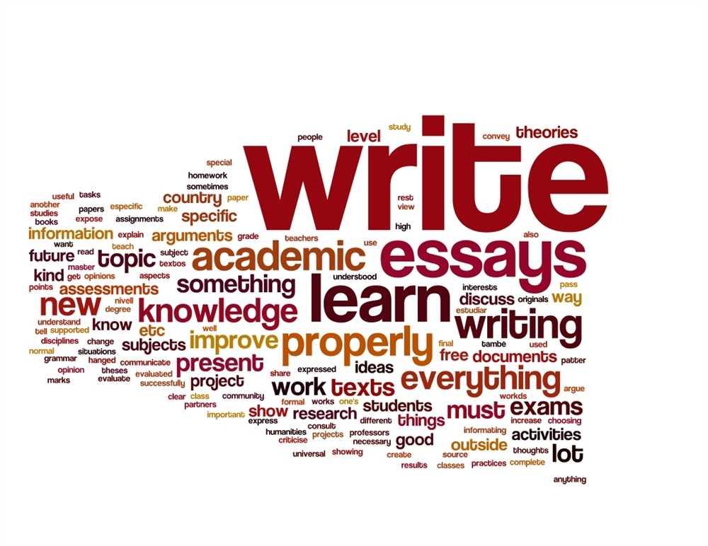essays on writing styles